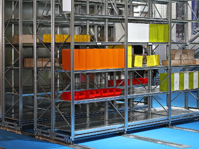 Industrial and mobile shelving