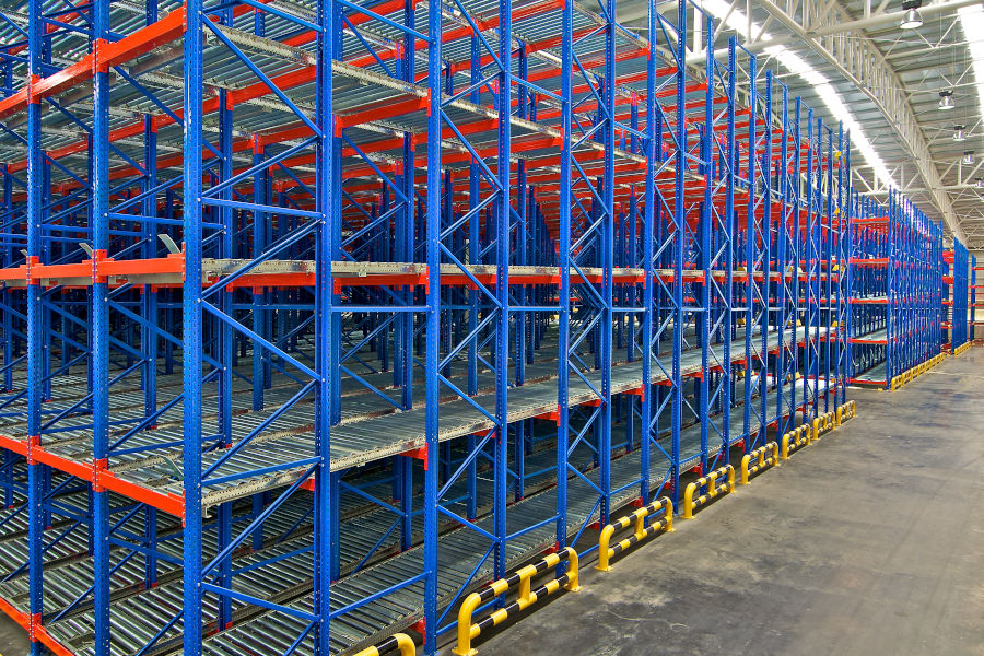 Carton Flow pallet racking