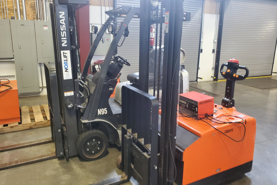 Forklifts for sale or lease